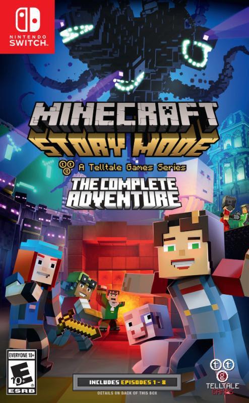 La primera temporada de Minecraft llegará a Switch el 25 de agosto