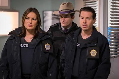 Cena do 14º episódio da 17ª temporada de Law & Order: SVU  (Universal TV)