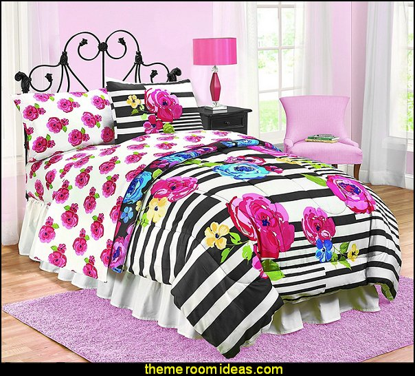 teens floral bedding