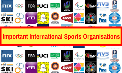 Important International Sports Organisations