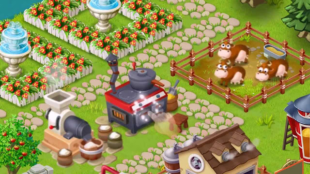 Happy Farm Day game bercocok tanam dan beternak