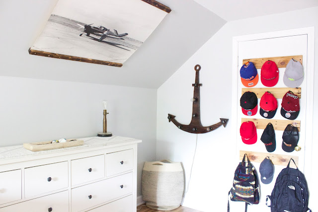 rustic boys bedroom part 4 hanging hats aniah s window