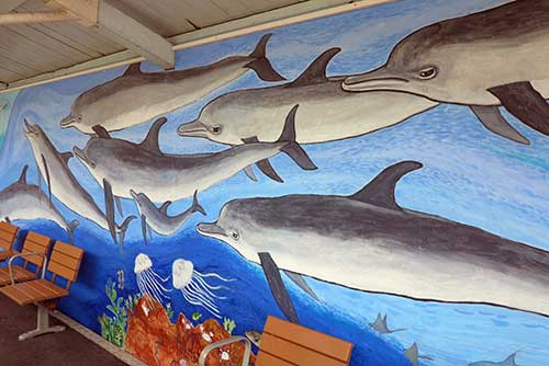 Taiji Station mural