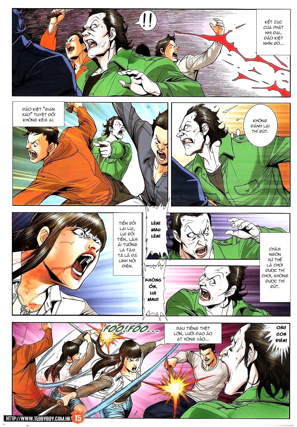 Người Trong Giang Hồ chapter 1702: lịch sử trùng diễn 3 trang 12