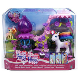 My Little Pony Zipzee Building Playsets Twist & Style Petal Parlor G3 Pony