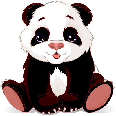 Adorable Panda emoticon