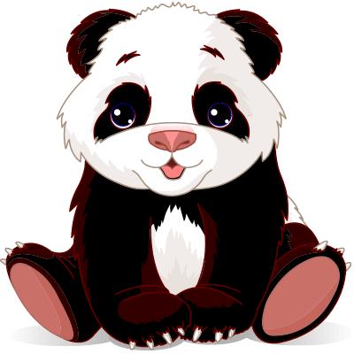 Adorable Panda emoticon