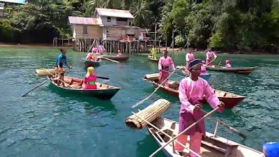 Suku Laut di Kepulauan Riau anak suku laut sampan kajang batam lingga