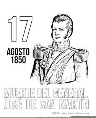 Muerte en Francia del general San Martín
