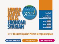 Ikuti Lomba Karya Tulis Ekonomi Syariah – Gres! Hadiah Total Rp 150 Juta