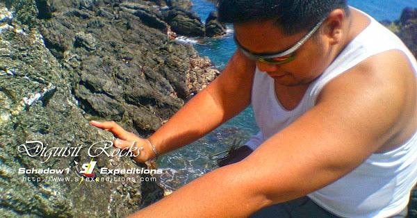 Climbing Diguisit Rocks - Baler - Schadow1 Expeditions