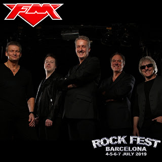 FM at Rock Fest Barcelona - 7 July 2019