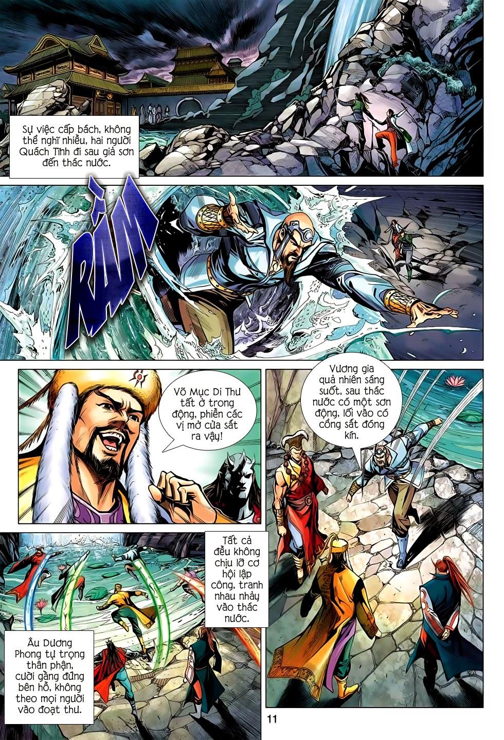Anh Hùng Xạ Điêu anh hùng xạ đêu chap 56: tuyệt tình vô nghĩa lãnh huyết ác niệm trang 11