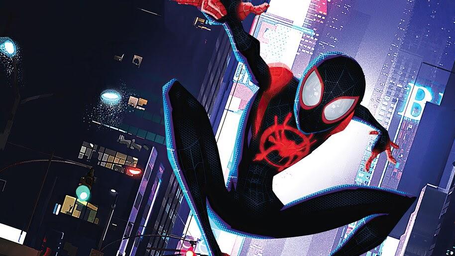 Spider-Man Into the Spider-Verse, Miles Morales, 4K, #3.2295