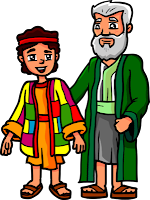 Genesis 37:4 - Jacob gives Joseph a coat of many colors