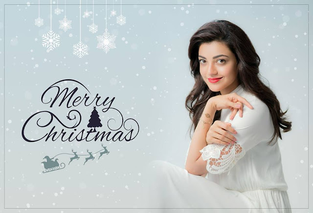 Kajal agarwal Wishes all a Very Happy Christmas