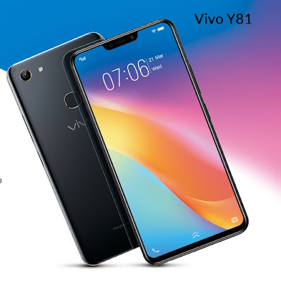 Vivo Y81 – 6.22-inches Full View HD+ Display | Helio P22 MediaTek | AI Face Beauty, (4GB/32GB)