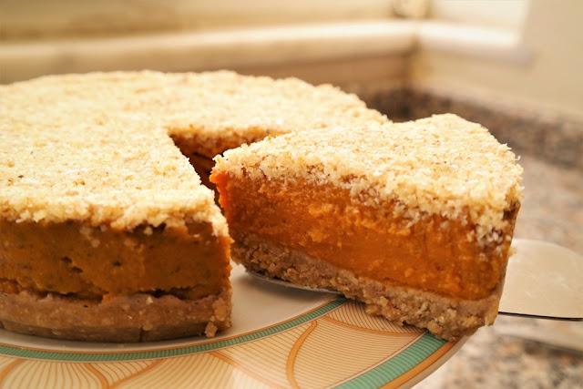 Balkabaklı Pasta (Rafine Unusz ve Şekersiz)