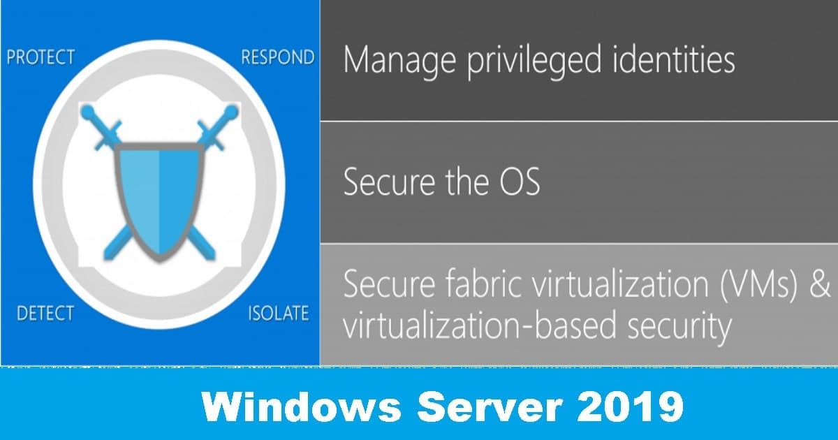 Windows Server 2019 (Version: 10 0 17763) and SQL server