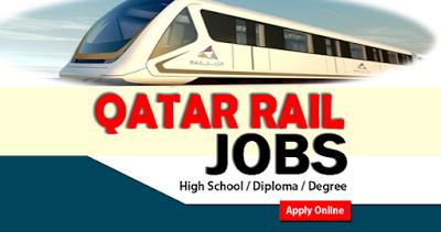 career, education, government jobs, insurance, Qatar jobs, Qatar jobs 2018, Qatar Rail, Qatar Rail  jobs, school, study, visa,