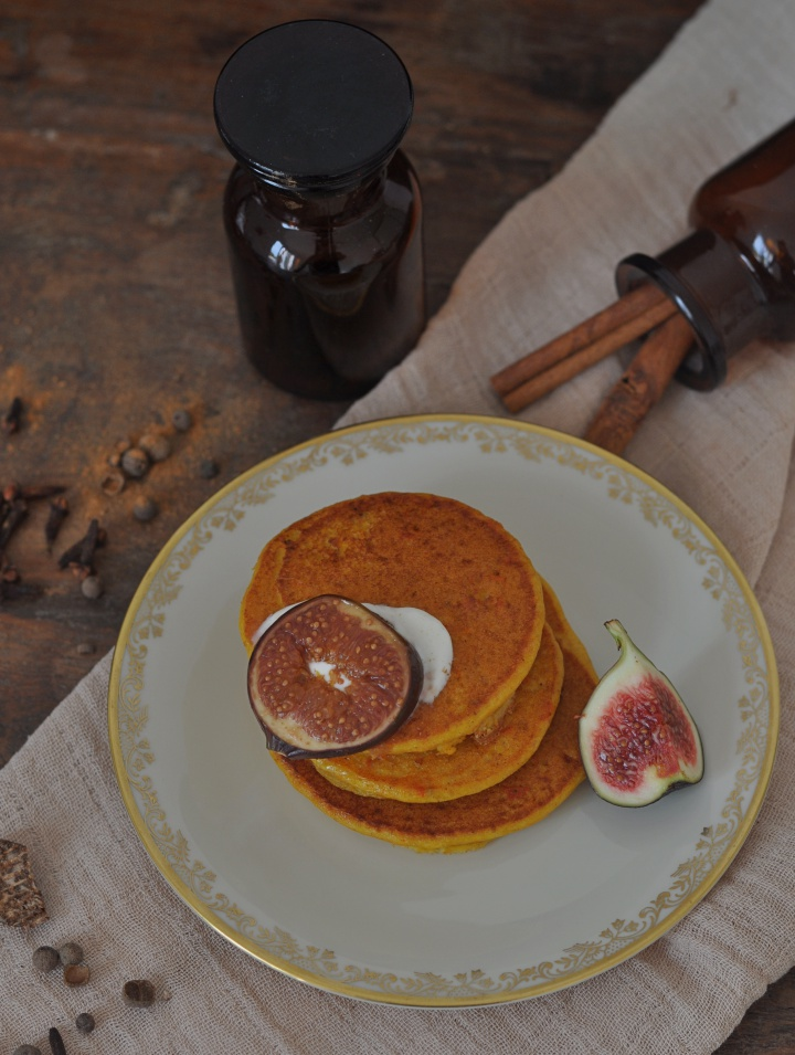 delicious Pumpkin Pancakes, just 5 ingrediences and oh-so good (and gluten free, too!)