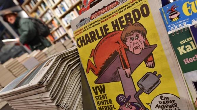 Edition allemande de Charlie Hebdo