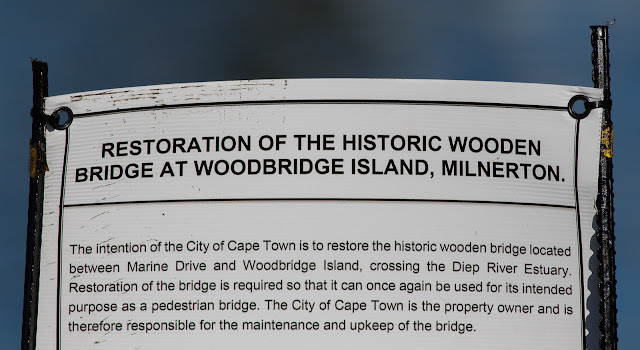 Restoration of the Wooden Bridge, Woodbridge Island