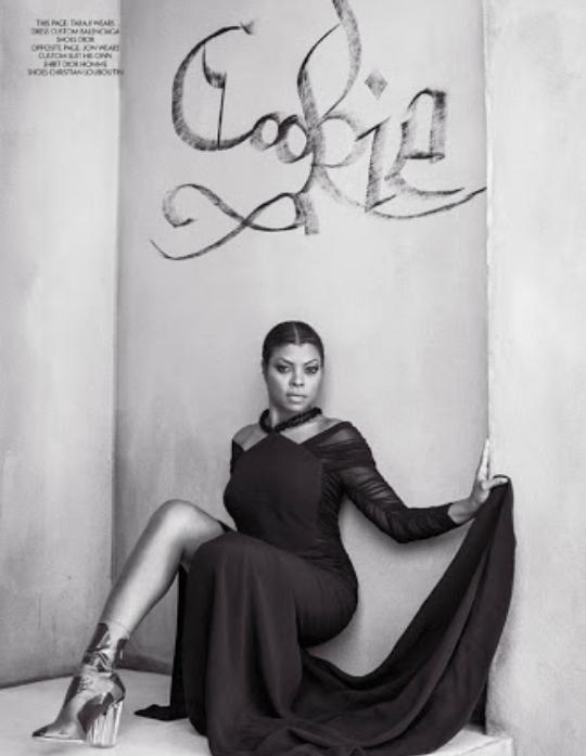 Taraji P Henson for upscale magazine | Beautiful black