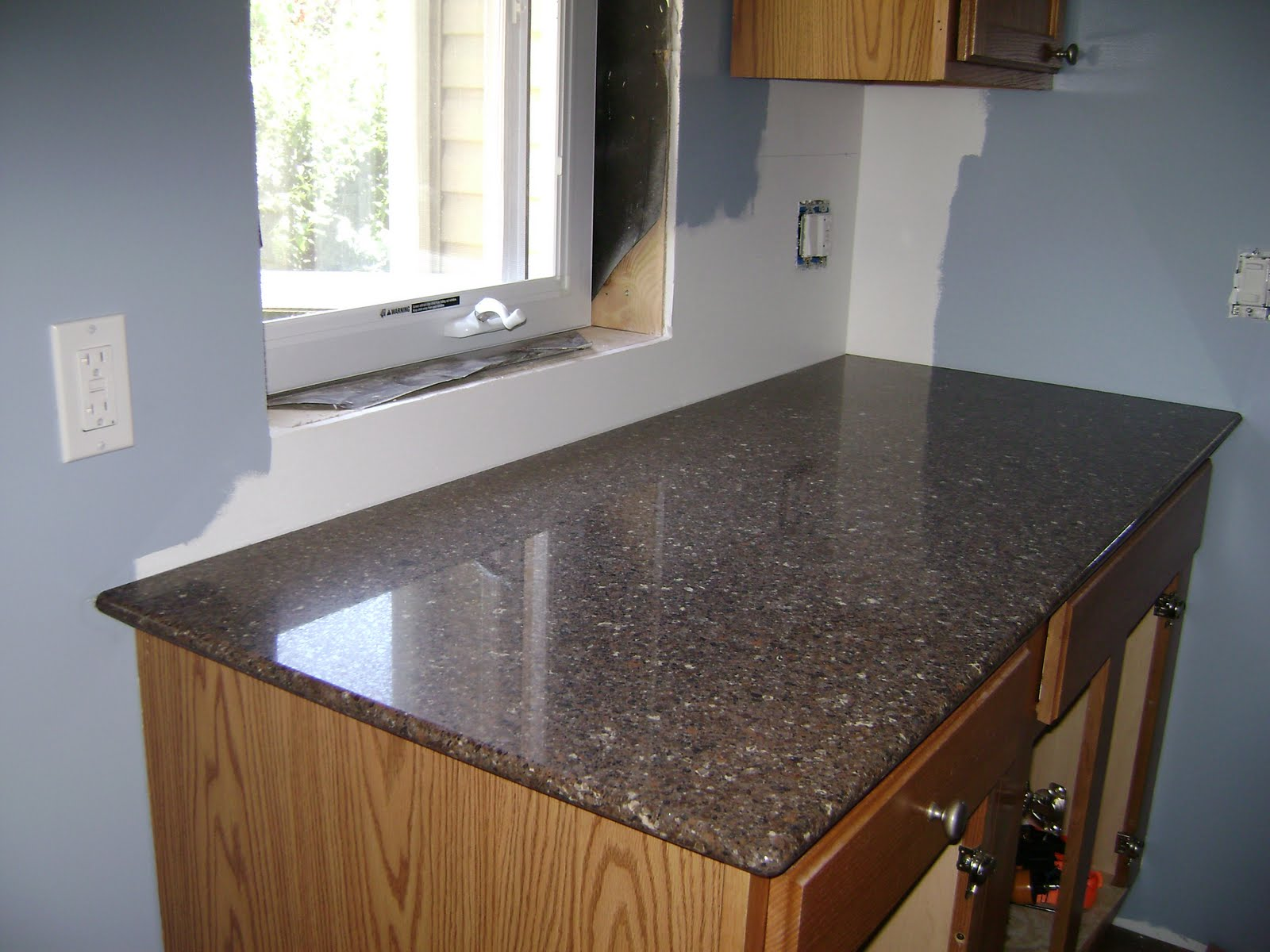 Updating Countertops Installed Silestone Sierra Madre