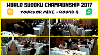 12th World Sudoku Championship 2017 | Yours or Mine