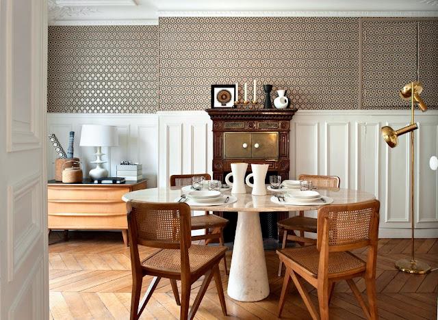 noir blanc un style - Deco Salle A Manger Noir Et Blanc