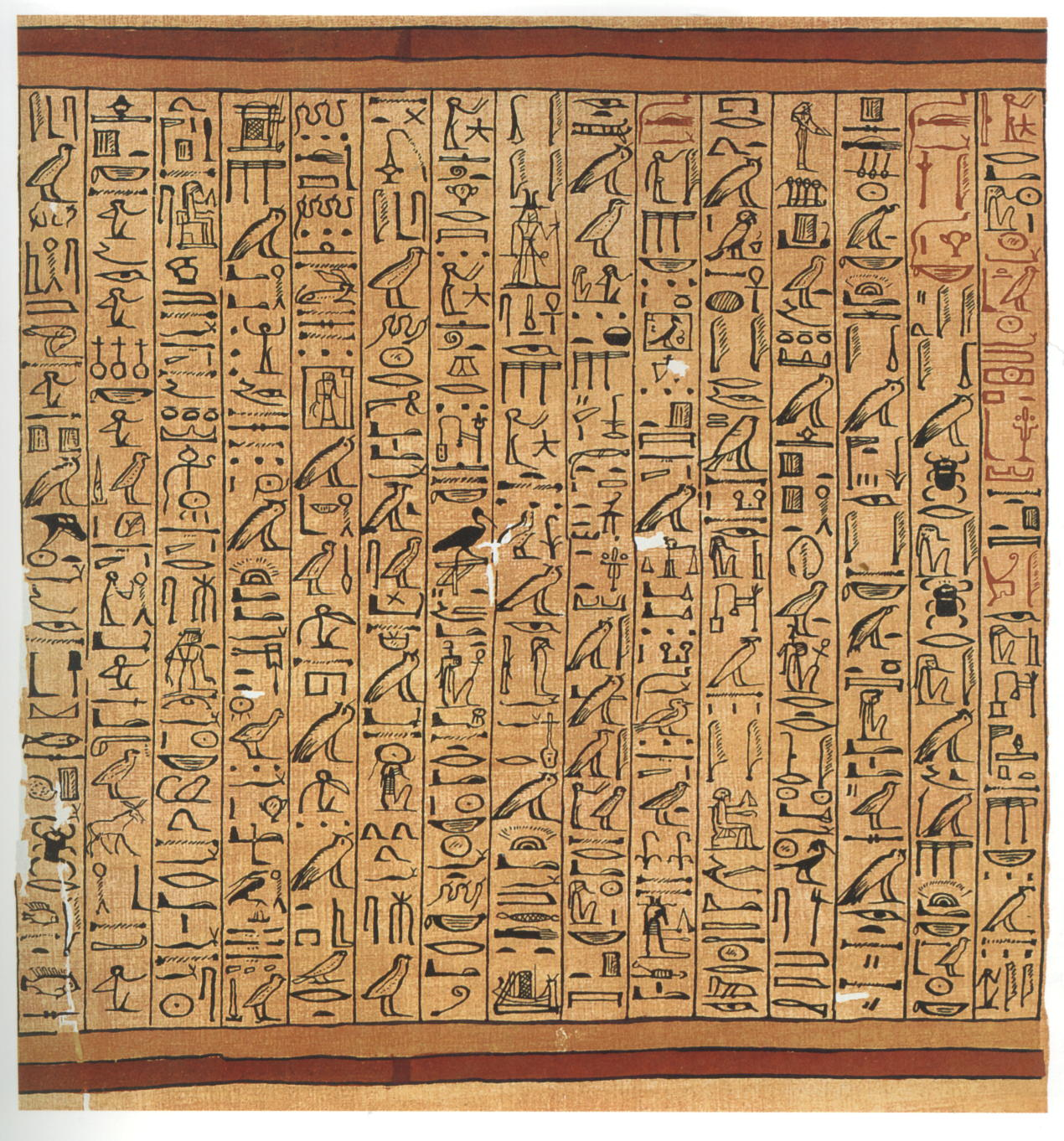 Cassie Langmann Portfolio: Hieroglyphics And The Egyptians