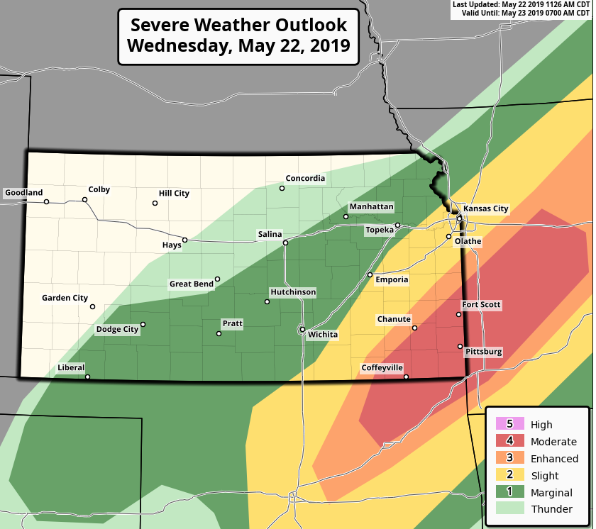 MSE Creative Consulting Blog: Serious Tornado Risk Later Today