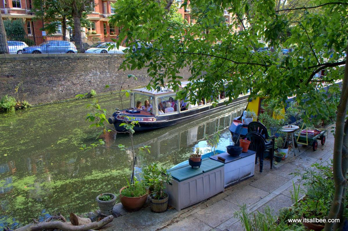 Little Venice Boat Tour | Quick Guide To London's Little Venice | Canals, Boat Trips, Restaurants & Tours