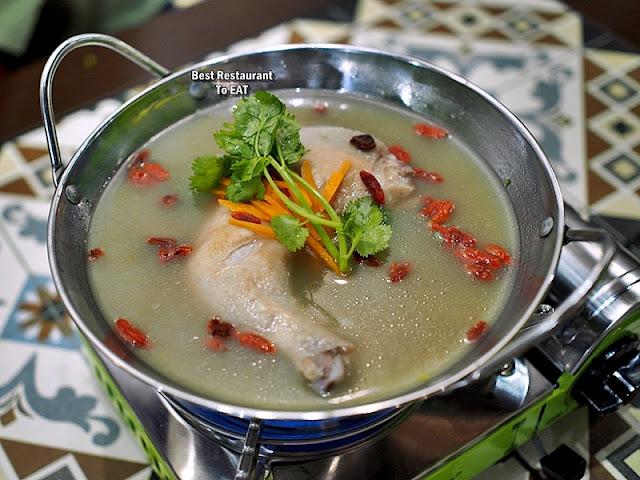 Luckin Kopi Petaling Street Menu - Herbal Chicken Soup