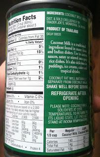 What S Good At Trader Joe S Trader Joe S Light Coconut Milk
