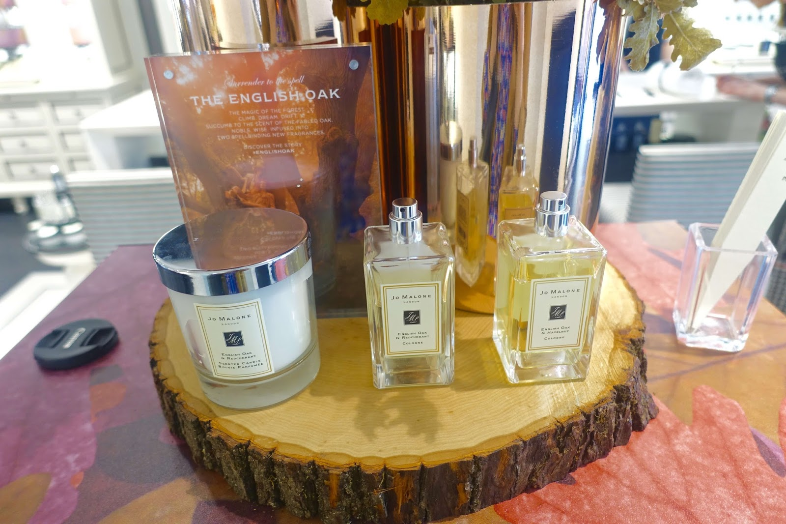 Launch of the new English Oak fragrance