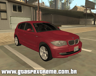 BMW 120i 2009 para grand theft auto