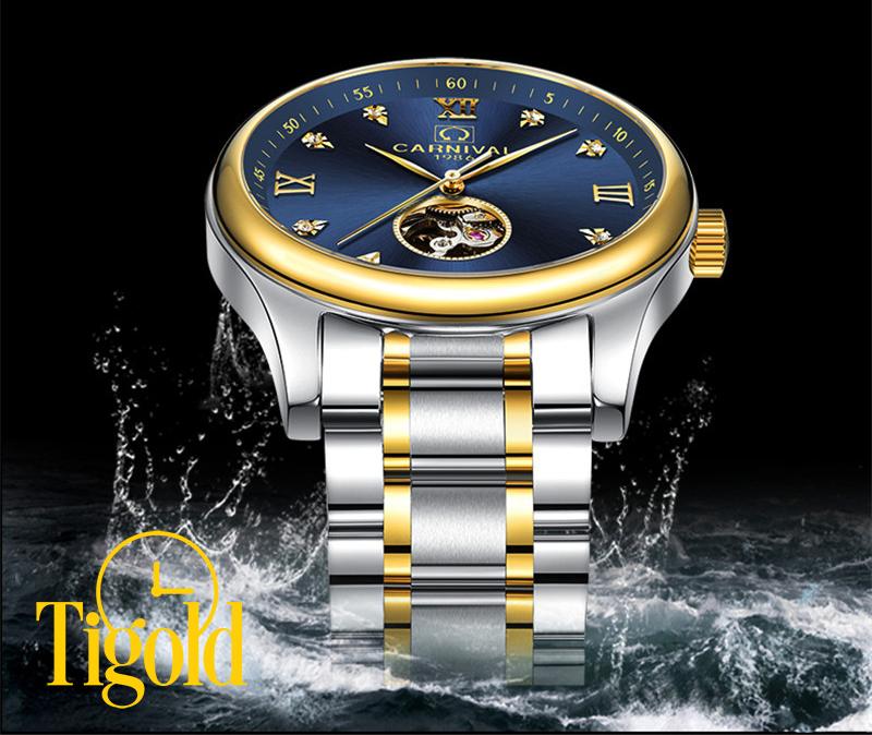 đồng hồ đeo tay nam carnival chính hãng