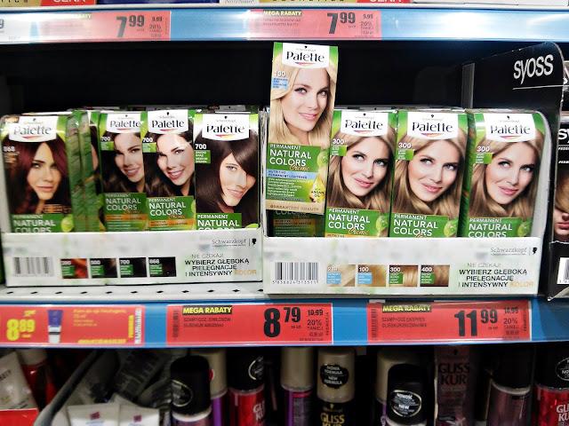 Palette - Farba do włosów, Biedronka promocje