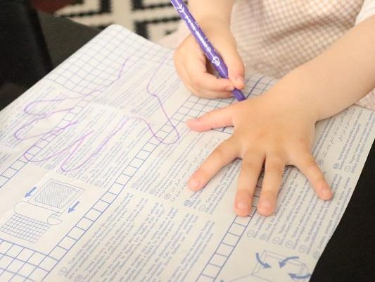 dessin empreinte main