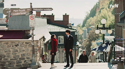 Quebec Canada petit champlain Escalier Casse-Cou 목이 부러지는 계단