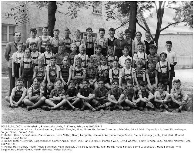 BIAB_E_01_0002.jpg, Gruppenbild Rodensteinschule, 7. Klasse; Jahrgang 1942/1943, Bild zur Verfügung gestellt von Martin Schmitt, Bensheim