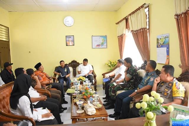Kapolres Tanjungbalai AKBP Irfan Rifai Mengikuti Rapat Koordinasi Pimpinan Daerah Kota Tanjungbalai