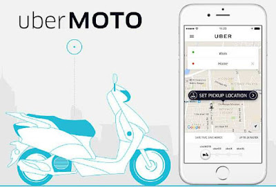 The Uber Moto Bike Sharing Service launched in Hyderabad