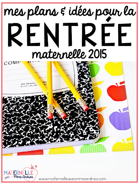 A peek at my first week of 2015 en maternelle! Lots of great ideas that you can implement right now!
