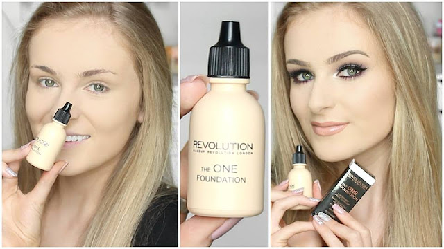 Review Makeup Revolution The One Foundation Kem Nền Cho Da Dầu, kem nền, foundation, makeup revolution the one foundation, makeup revolution, review kem nền, kem nền cho da dầu