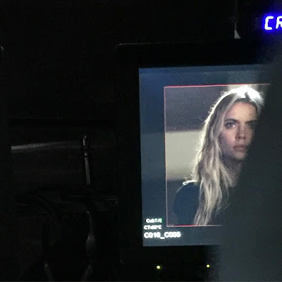 "PLL behind-the-scenes Ashley Benson (Hanna) 7x10 ""The DArkest Knight"""