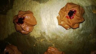 Schokoteig mit Marmelade