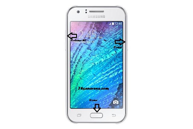 Cara Reset Samsung Galaxy J1 J100F